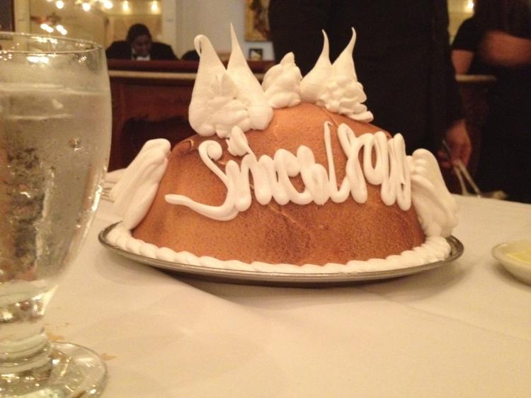 Famous Baked Alaska from Antoine's !