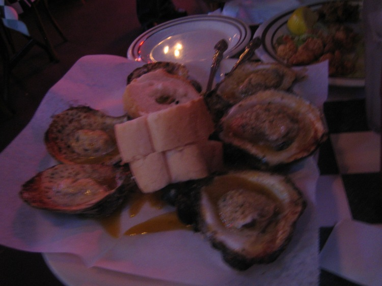 I'm not really an oyster fan. But I am a huge fan of Chargrilled Oysters from Acme Oyster House.