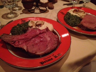 House of Prime Rib. We're fancy sometimes.