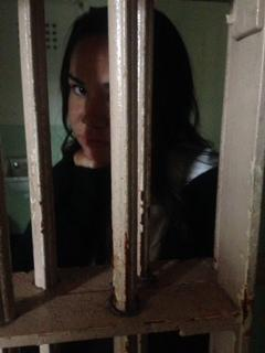 "Solitary Confinement is no fun. Although , I didn't feel very ""alone"" in that creepy dark cell."