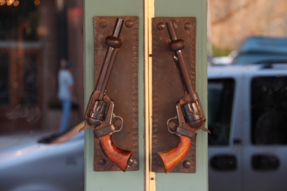 Cool door handles!