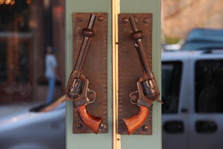Cool door handles!