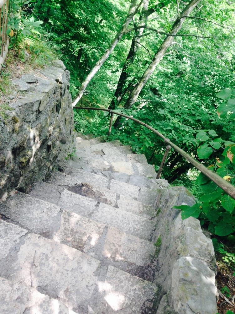 Stairway to nature!