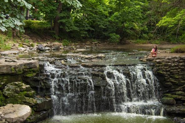 Upper falls and I