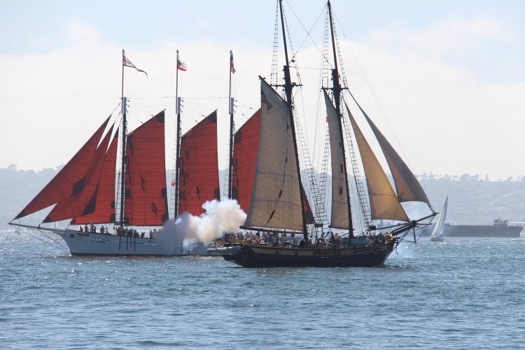 Don't miss the Tall Ship Parade!