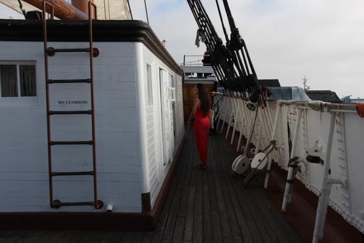 Exploring the ship!