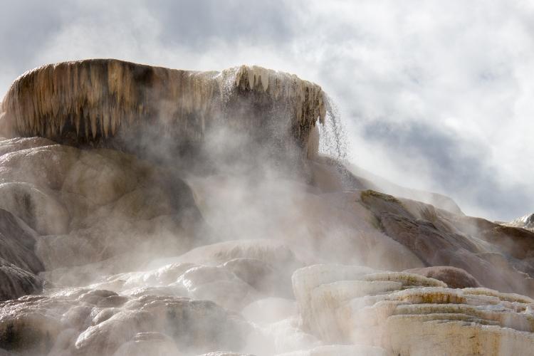 Photo By: Tim Trevaskis : Mammoth Hot Springs