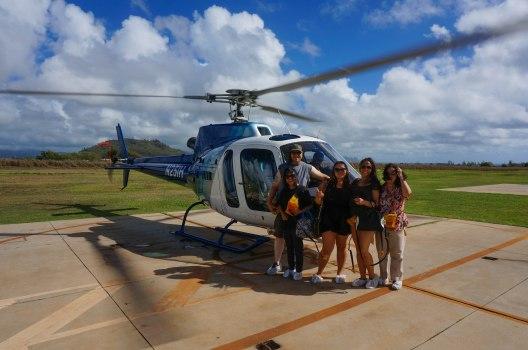 Autumn Aquarius Helicopter Kauai
