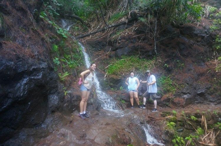 Autumn Aquarius Hanakapi'ai Falls Hike