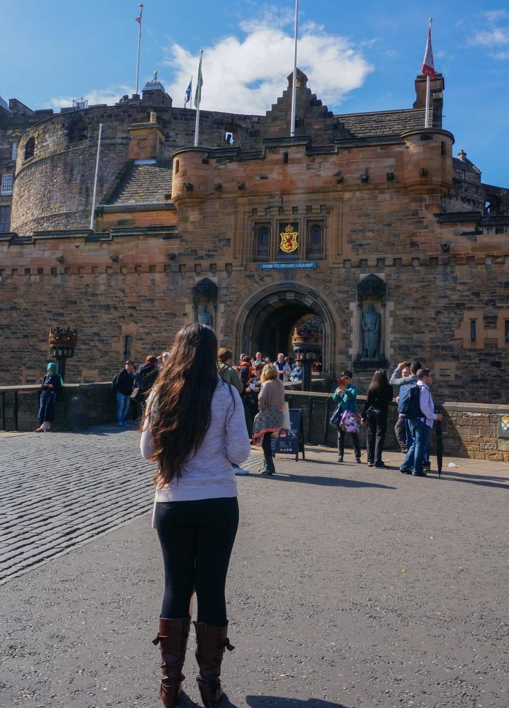 Autumn Aquarius Edinburgh Castle