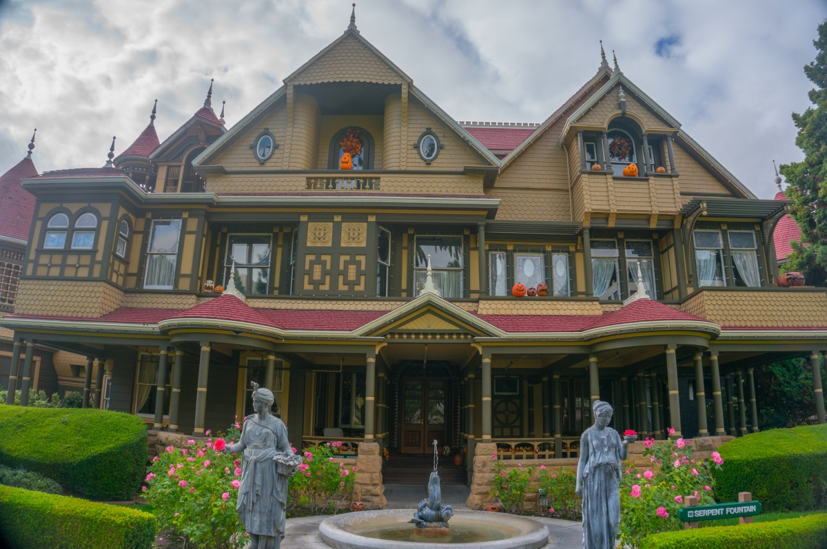 The winchester mystery house of my dreams autumn for The winchester house