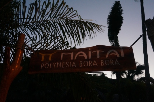 Autumn Aquarius Hotel Maitai Polynesia