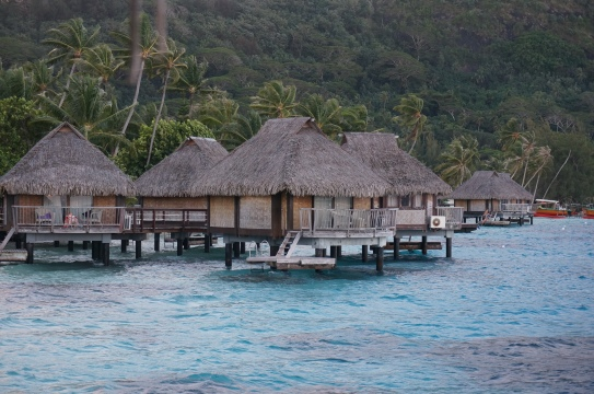Autumn Aquarius Overwater Bungalows