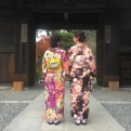 Autumn Aquarius Japan kimono girls