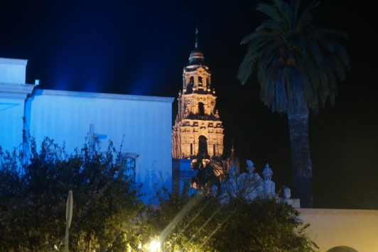 Autumn Aquarius City Lights Tour California Tower