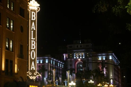 Autumn Aquarius City Lights Tour Balboa Theater